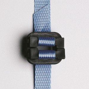 kunststof gesp 13mm breed zwart